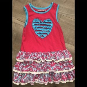 Jelly the pug heart dress